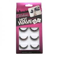 Løsvipper Megapack Hot Wave Eyelash Extensions no. 3209 5 sett