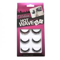 Løsvipper Megapack Hot Wave Eyelash Extensions no. 3404 5 sett