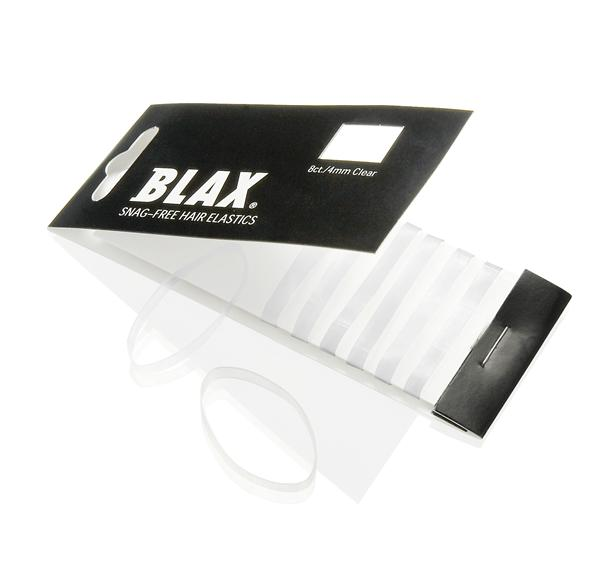 BLAX hårstrikker 4 mm clear