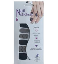 Negle Stickers - Nail Wrap 12 stk no. 01