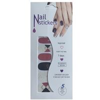 Nail Stickers - Nail Wrap 12 stk. no. 04