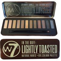 W7 In The Buff Lightly Toasted Eye Palette - Øyenskygge
