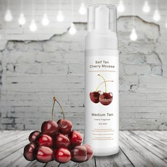 Spray tan Cherry Mousse 200ml. Medium tan