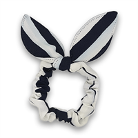 Scrunchie med bow - Sailor Stripes