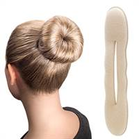 Hair Bun Sponge - Blond - 17 cm