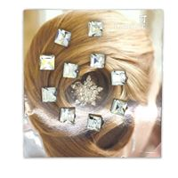 Hair jewelry 10 stk. - Diamond style