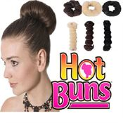 Hot Buns Hair Donuts