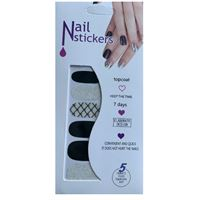 Nail Stickers - Nail Wrap 12 stk. no. 15