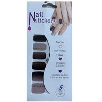 Nail Stickers - Nail Wrap 12 stk. no. 18
