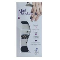 Nail Stickers - Nail Wrap 12 stk. no. 02