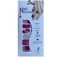 Nail Stickers - Nail Wrap 12 stk. no. 06