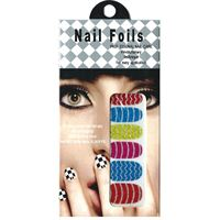 Nail Stickers - Nail Wrap 12 stk. no. 10