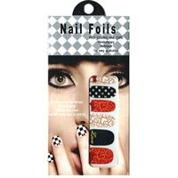 Nail Stickers - Nail Wrap 12 stk. no. 13