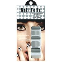 Nail Stickers - Nail Wrap 12 stk. no. 14