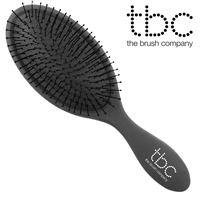 TBC® The Wet/Dry Brush hårbørste, Svart