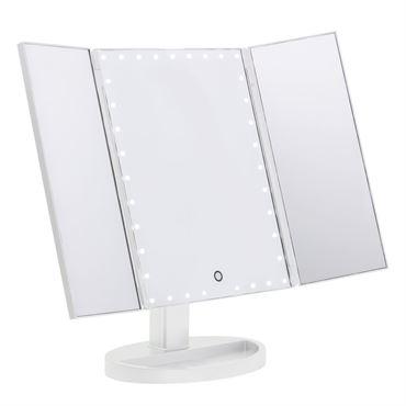 Hollywood speil med lys
