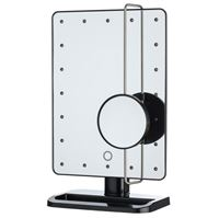 UNIQ Hollywood Mirror - Svart  - LED Mirror x10