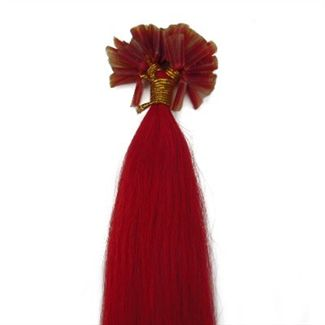 60 cm Nail Hair Extensions Total Red