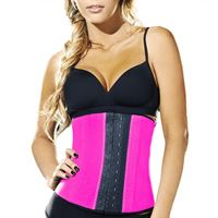 AVA® Latex Waist Trainer - Rosa